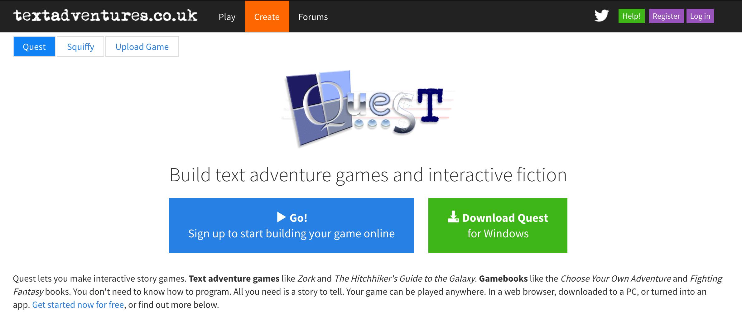 Text Adventures